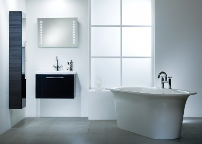 Envy Anthracite 700mm Washstation Roomset