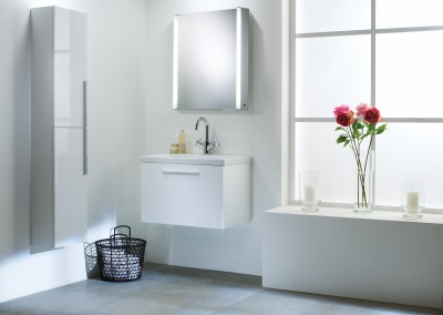 Envy White 700mm Washstation Roomset